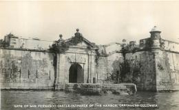 CARTAGENA COLOMBIA GATE OF SAN FERNANDO CASTLE ENTRANCE OF THE HARBOR  EDITION  MOGOLLON - Colombia