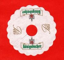 7511    -    Sous Bock  Collerette      KONIGSBACHER            Lot  6 - Sotto-boccale