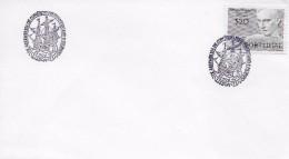 TIMBRES - STAMPS - PORTUGAL -  MARCOPHILIE - TIMBRE - CACHET LISBONNE 23-11-1976 - 1910-... République
