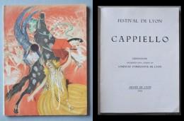 Volume Festival De Lyon CAPPIELLO. Musée De Lyon 1961 - Libri, Riviste, Fumetti