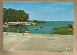 Jolie CP 33 Hourtin Centre De Formation Maritime La Darse - Ed Combier - écrite En 1983 - Other Municipalities
