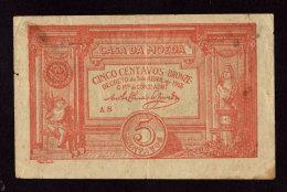 Portogallo, Casa De Moeda 5 Centavos. Decreto De 5 April 1918 - Portugal