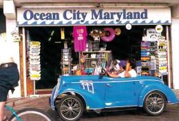 Pedaling Around Ocean City, Maryland - Trade Winds Unused - Ocean City