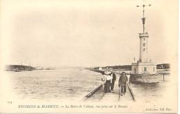 ANGLET - Environs De Biarritz - La Barre De L'Adour, Vue Prise Sur Le Boucau - ND 113 - Précurseur Non Circulée - Tbe - Anglet