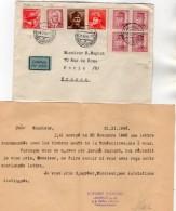 TB 1093 - LAC - Lettre De Tchécoslovaquie Par Avion Pour PARIS - Tschechoslowakei/CSSR