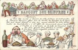 INVITATION AU BANQUET DES GOINFRES - Humor
