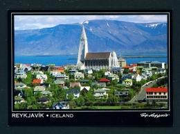 ICELAND  -  Reykjavik  Hallgrimskirka  Used Postcard - Iceland