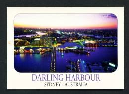 AUSTRALIA   -   Sydney  Darling Harbour  Used Postcard - Sydney