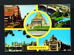 AUSTRALIA  -  Melbourne  Multi View  Used Postcard - Melbourne