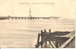 ANGLET - Bayonne - La Barre Et La Tour Des Signaux - Aux Dames De France 8 - Non Circulée - Tbe - Anglet