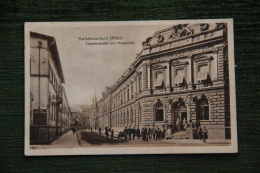 ALLEMAGNE,KAISERSLAUTERN - Tharterstabe Mit Hauptpost - Kaiserslautern
