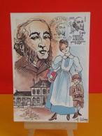 FDC Carte Maxi- École Publique Gratuit Obligatoire & Laïque - Saint Dié & Paris - 26.9.1981 - 1er Jour, Coté 1,80 € - Cartes-Maximum
