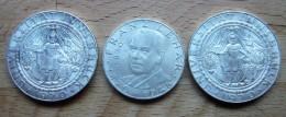 Osterreich - 3 Münzen Silber - Münzen