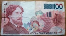 Belgien 100 Frank - [ 2] 1831-...: Belg. Königreich