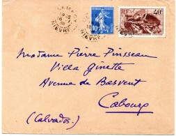 FRANCE - YT N° 315 Sur Lettre - Brieven En Documenten