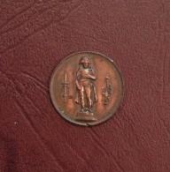 Médaille - Rétablissement De La Statue De Napoléon Ier Sur La Colonne D'Austerlitz, 28 Juillet 1833 - Royal / Of Nobility