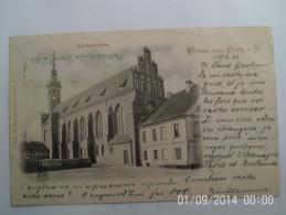 GRUSS AUS STOLP Schlosskirche O.S - Polen