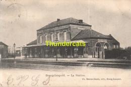 CPA BOURG LEOPOLD LA STATION - Leopoldsburg