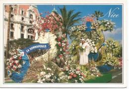 R701 Nice - Bataille De Flaurs - La Somnambule / Non Viaggiata - Mercati, Feste