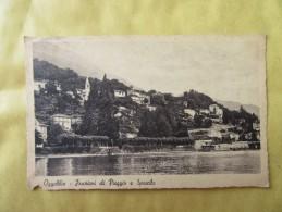 OGGEBBIO - FRAZIONI DI PIEGGIO E SPASOLO - Viaggiata 1946 - Verbania