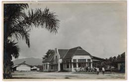 PEMATANG SIANTAR 1920 Railway Station - Real Photo - Indonésie