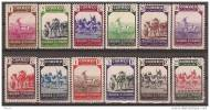 SHR63-LFT**63TAMO..Maroc .Marocco.SAHARA   ESPAÑOL FAUNA INDIGENA.1943 (Ed 63/74**) Sin  Charnela,MAGNIFICA.RARA - Sellos