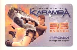 Russia Saratov Tomb Raider Lara Croft - Russia