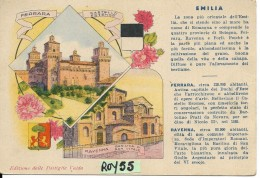 Emilia Romagna-ravenna Veduta Ferrara Veduta Pubblicita' Pastiglie Valda (vedi Retro Pubbl.) - Italia
