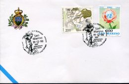 10259 San Marino, Special Postmark 1998  200 Anniv. Of Death  Luigi Galvani - Beroemde Personen