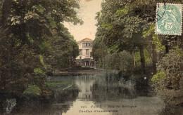 CPA PARIS - BOIS DE BOULOGNE - PAVILLON D'ARMENONVILLE - Unclassified