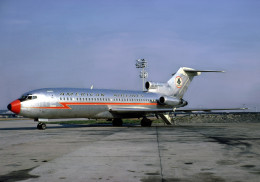 Aviation Postcard-624-AMERICAN AIRLINES Boeing 727