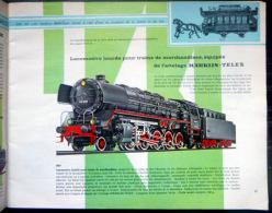 MARKLIN   CATALOGUE DU CENTENAIRE 1959 MODELES REDUITS TRAINS LOCOMOTIVES ACCESSOIRES - Model Railways