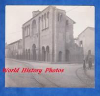 Photo Ancienne - RAVENNA - Palais De Theodoric - Ligne De Chemin De Fer Tramway - Emilia Romagna Italia - Anciennes (Av. 1900)