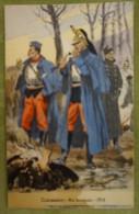 Cuirassiers - Trompettes- 1914 - Belle Carte Aux Coloris Illustrée Par Maurice TOUSSAINT - Uniformes