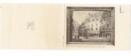 Double Carte - 21 - DIJON - Côte D´Or - Hôtel Sauvegrain Repro Tableau XIXe Cliché Michel Thierry - HAVAS CENTREST - Dijon