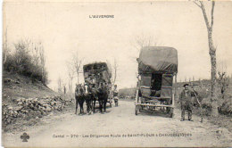 Les Diligences Route De SAINT FLOUR A CHAUDESAIGUES -  (88602) - Saint Flour
