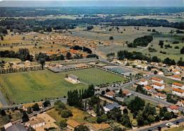 33-ST-SEURIN-SUR-L'SLE- VUE AERIENNE - STADE MUNICIPALE - France