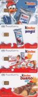 GREECE - Set Of 4 Cards, Kinder, Tirage 40000, 03/05, Used - Télécartes