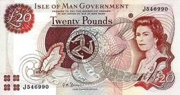 ISLE OF MAN 20 POUNDS ND (2007) P-45b UNC [ IM117d ] - Eiland Man/ Anglo-Normandische Eilanden