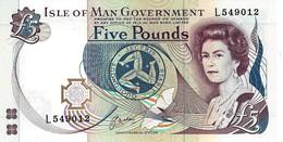 Isle Of Man (IOMG) 5 Pounds ND (1991) UNC Cat No. P-41b / IM115b - Eiland Man/ Anglo-Normandische Eilanden