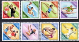 HUNGARY 1972 Olympic Games Set MNH / **.  Michel 2773-80 - Hungary