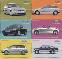 GREECE(chip) - Set Of 6 Cards, Ford, Tirage 40000, 04/04, Used - Télécartes
