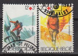 BELGIE : N° 2082-83 – (0) – Red Cross – Rode Kruis - SPORT  (1983) - Belgien