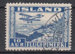 IJSLAND - Michel - 1934 - Nr 175B - Gest/Obl/Us - Airmail