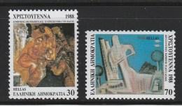 Greece 1988 Christmas Set MNH W0358 - Greece