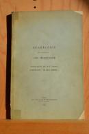 """Généalogie De La Famille Van Hoorebeke; Branche Puinée Dite De Sauveur. Brasseurs """"in De Hoorn"""". Gand 1928. - Histoire"""
