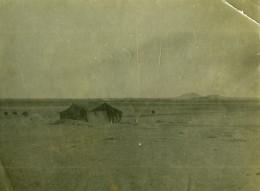 Syrie Djezireh Hassaké Mandat Militaire Francais Tente Arabe Desert Ancienne Photo Amateur 1929 - Places