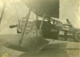 Syrie Djezireh Hassaké Mandat Militaire Francais Potez Aviation Ancienne Photo Amateur 1929 - War, Military