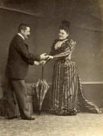 Vie Quotidienne En France Deguisement Scene De Genre Ancienne Photo Amateur 1900 - Anonymous Persons