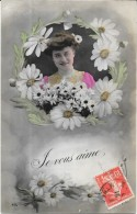 4 CPA FANTAISIES AMOUR - Je Vous Aime, Un Peu,, Beaucoup, Passionnement  -  ENCH0616 - - 5 - 99 Postcards